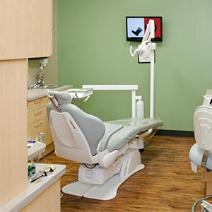 North Tonawanda Family Dentistry Exam Room
