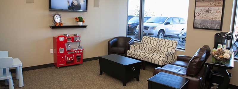 Dental Office Waiting Room at North Tonawanda Family Dentistry