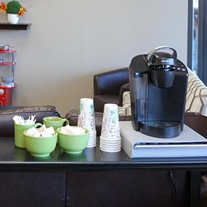 Coffee Bar at North Tonawanda Family Dentistry